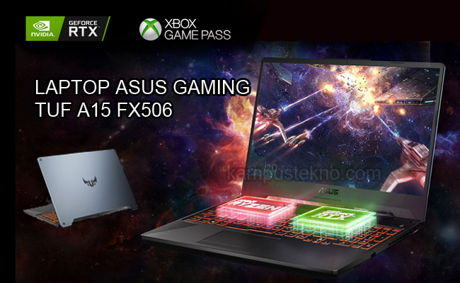Harga Spesifikasi ASUS TUF A15 FX506 Laptop Gaming Performa Powerfull