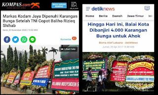 Pengakuan Penjual Karangan Bunga: HRS Jadi Jalan Rezeki Buat Bakul Bunga