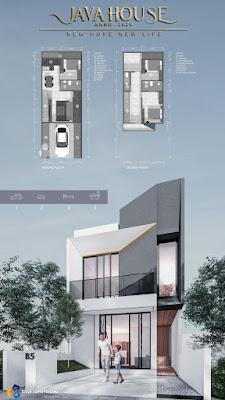 Rumah mewah MURAH 600 Jutaan dekat Plaza Millenium Kapten Muslim Medan 2 Lantai - Java House Anno 2020