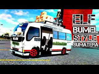 Mod Elf Isuzu Bumel Bussid