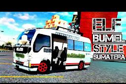 Mod Elf Isuzu Bumel Bussid | modbussid.com