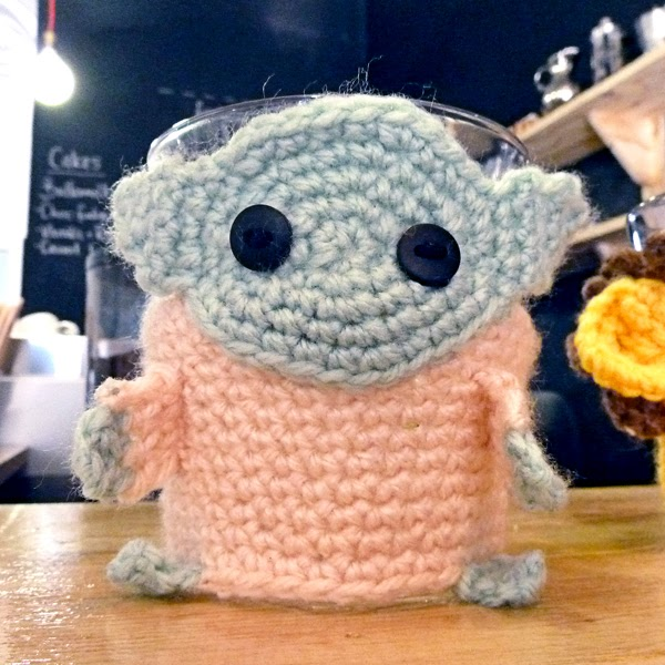 Restaurant Review: Parc Cafe - another awesome Durban spot  - cute knitted mug jerseys!