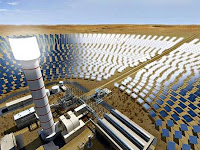 World's largest Concentrated Solar Power (CSP) project at Mohammed bin Rashid Al Maktoum Solar Park to generate 700MW of clean energy (Image Credit: state news agency WAM) Click to Enlarge.