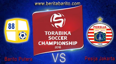 Prediksi Pertandingan Barito Putera VS Persija jakarta