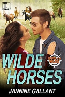 Bea's Book Nook, Review, Wilde Horses, Jannine Gallant