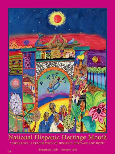 Hispanic Heritage Month: September 15 - October 15