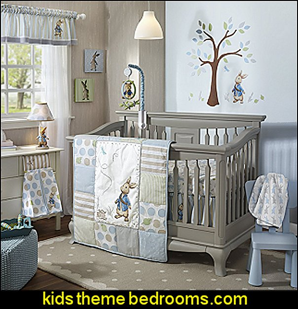 Lambs & Ivy Peter Rabbit Crib Set