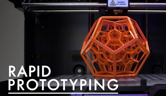 rapid prototyping methods develop new products fast design manufacturing