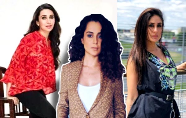 Kapoor Sisters Opened Their Mouths With Nepotism And Washed Kangana Ranaut