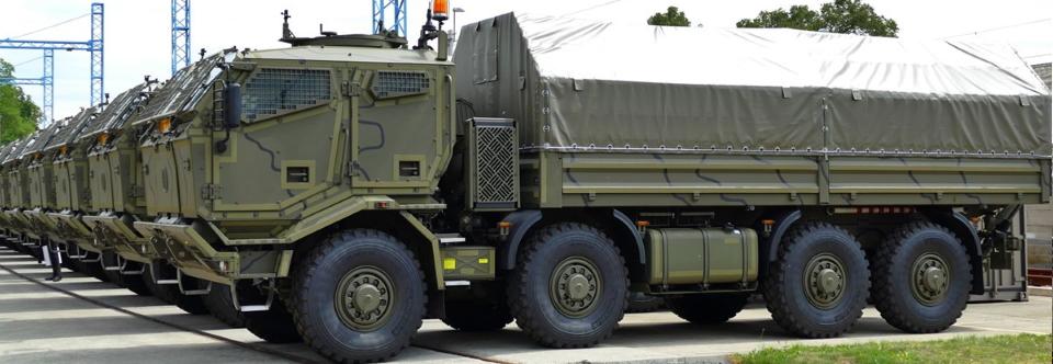 Збройні Сили України перейдуть на єдине шасі Tatra