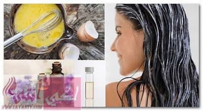 وصفات لتجميل الشعر