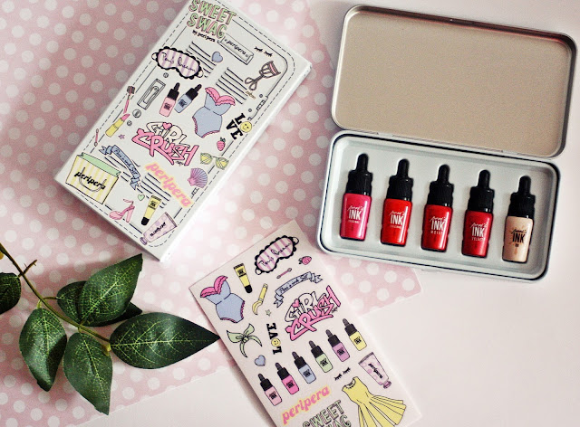 Peripera, Peri's Ink Minimini Set Girls Cabinet #True Feminity
