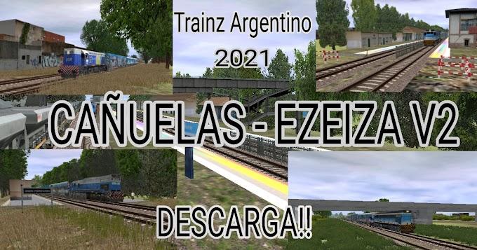 Ruta Cañuelas - Ezeiza V2   Por Ron Eustaquio