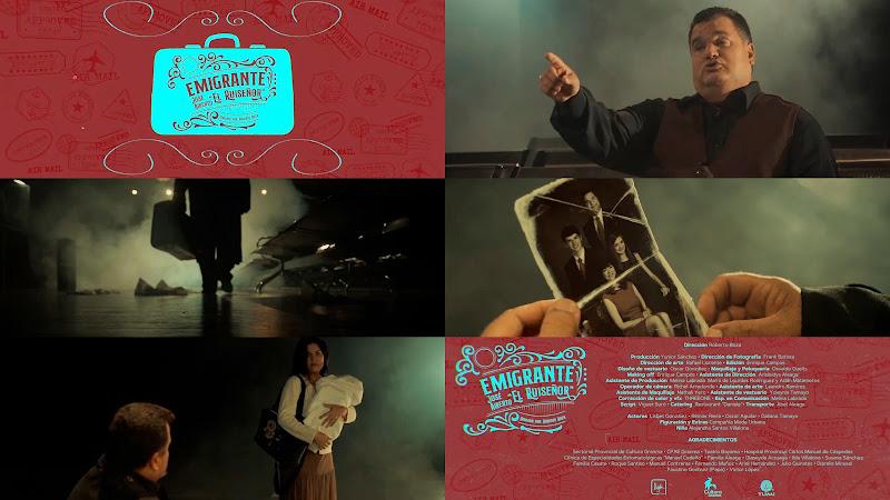 José Alberto El Ruiseñor - ¨Emigrante¨ - Videoclip - Director: Roberto Boza (Kijotefilms). Portal Del Vídeo Clip Cubano. TOP TEN 7D.   CUBA.