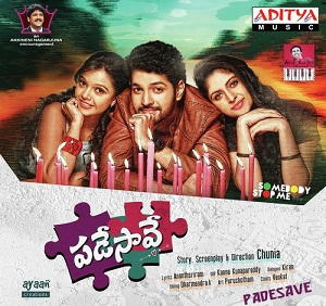 Padesave (2016) Telugu Mp3 songs Free Download