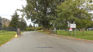 Memoria Park Cemetery in Kelowna British Columbia