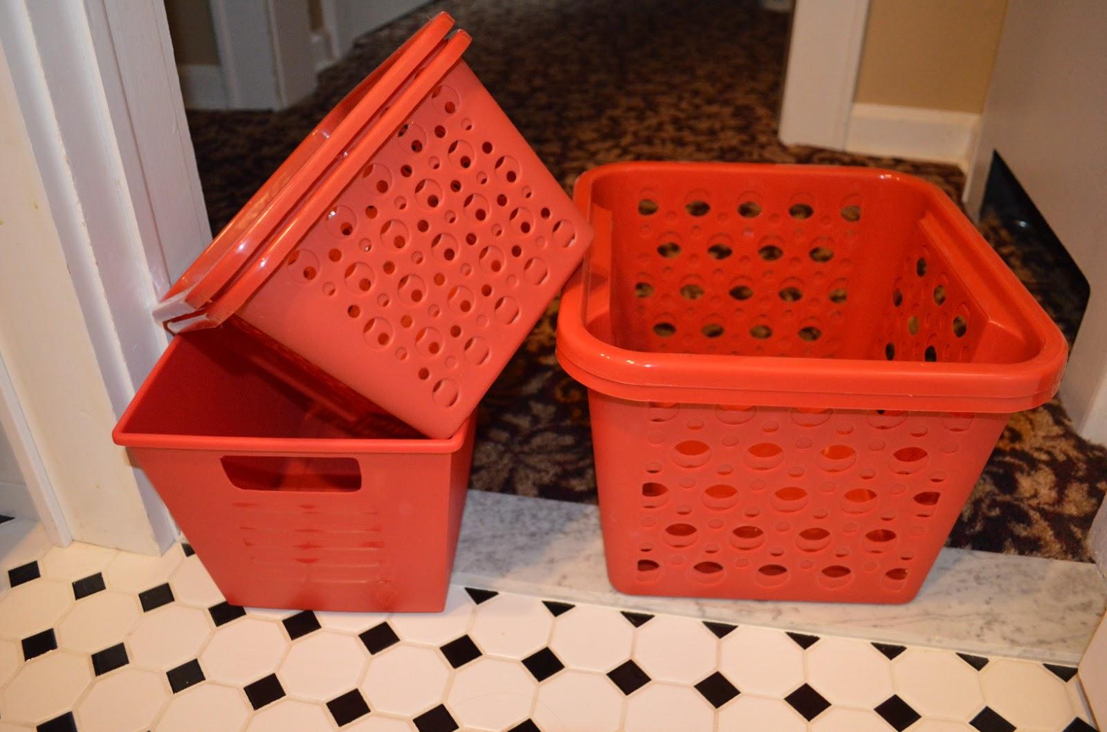 Dollar Store Baskets For Organization