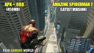 amazing spiderman 2 apk data