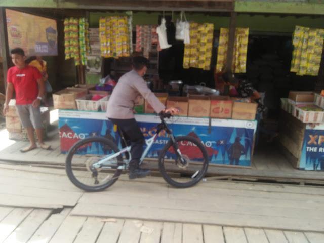 Polsek Kapuas Hulu Pantau Harga Sembako Dipasar