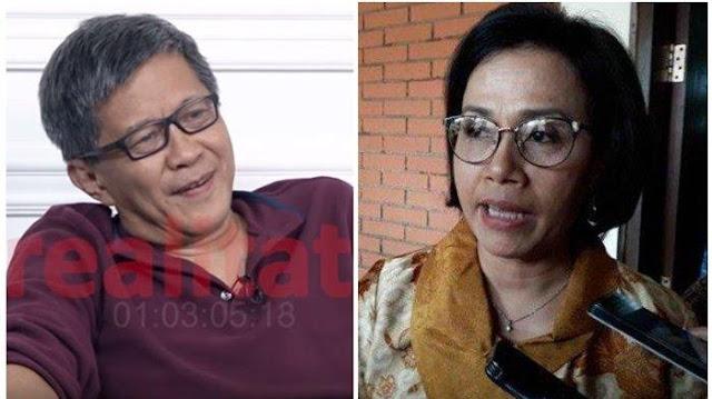 Sri Mulyani Ajak Masyarakat Makan di Warteg, RG: Ini Bukti Kasir Tidak Punya uang Lagi