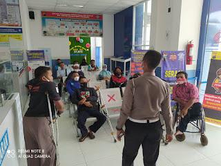 Penyandang Difabel Dilatih Uji Praktik SIM D Oleh Satlantas Polrestabes Semarang
