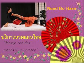 masaje tailandés con xiao