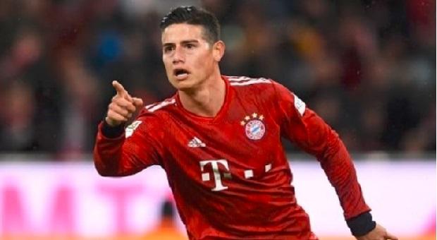 Bayern Muenchen Kembalikan James Rodriguez ke Real Madrid