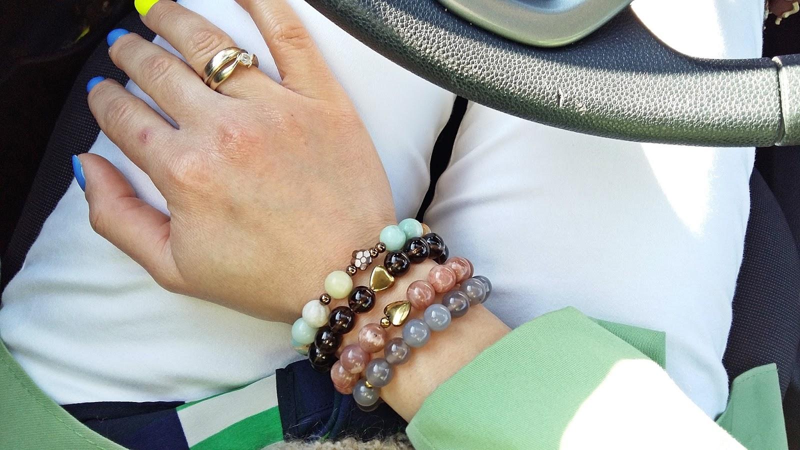 biżuteria amazonit