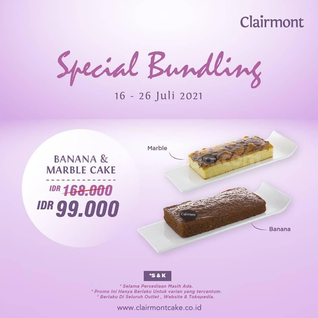 Clairmont Promo Special Bundling Harga hanya Rp. 99.000