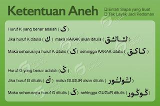 Analisa Kaidah Arab Melayu 1