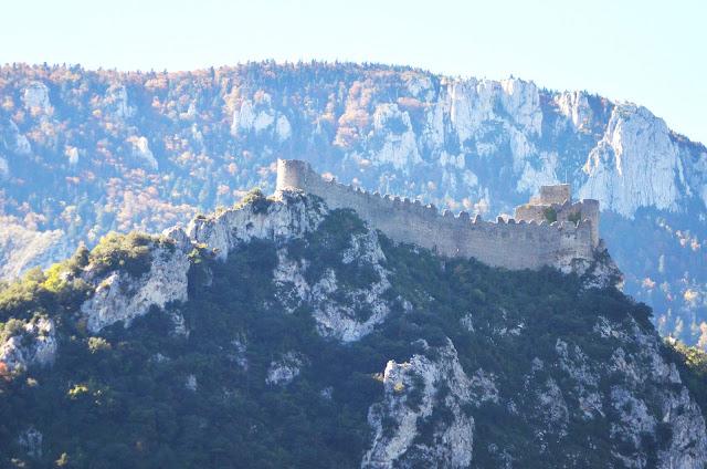 Castillo Puilaurens, Francia