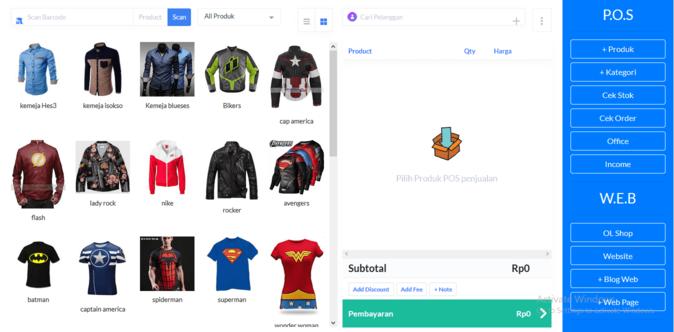 pembuatan toko online shop
