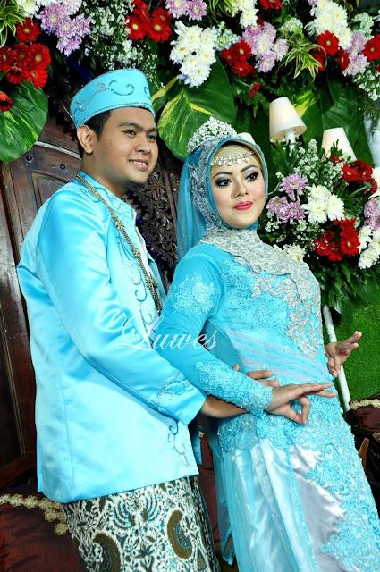 Makeup rias pengantin muslimah berhijab
