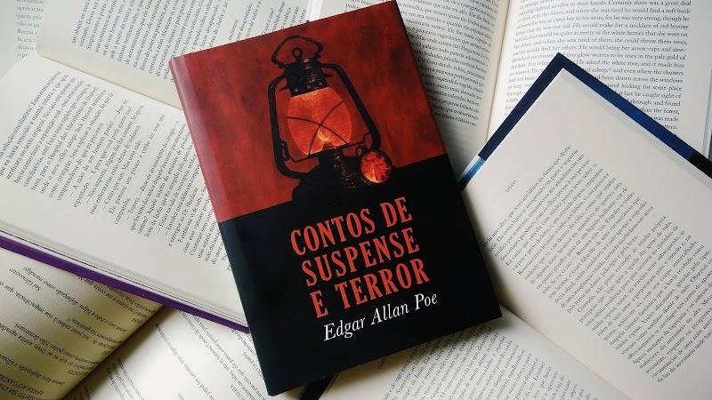 [RESENHA #526] CONTOS DE SUSPENSE E TERROR - EDGAR ALLAN POE