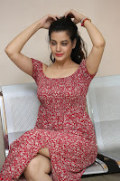 Diksha Panth in a Deep neck Short dress at Maya Mall pre release function ~ Celebrities Exclusive Galleries 099.JPG
