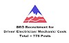 BRO Recruitment for Driver/ Electrician/ Mechanic/ Cook. Total = 778 Posts. Last Date:02.08.2019
