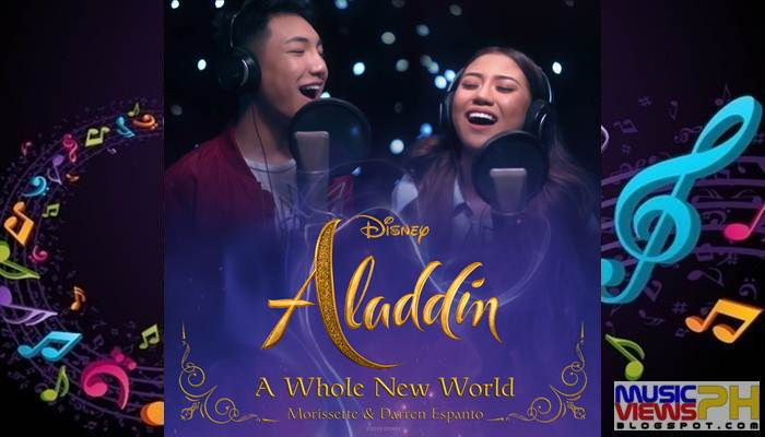 Darren Espanto & Morissette - A Whole New World (From
