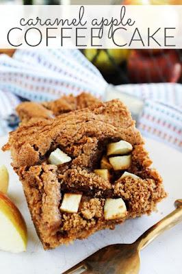 Caramel Apple Coffee Cake, Apple Recipes