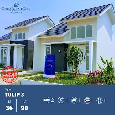 Rumah Tulip 36 90 Citra Indah City
