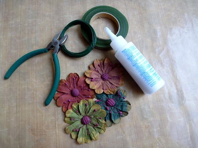 DIY Floral Branch Supplies by Dana Tatar