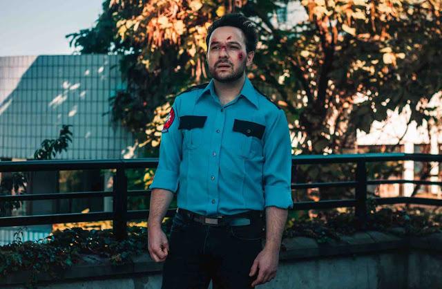 """Avec """"Il faut rester"""", l'Ambulancier alias Palem Candillier donne dans le post punk en français façon Joy Division"""