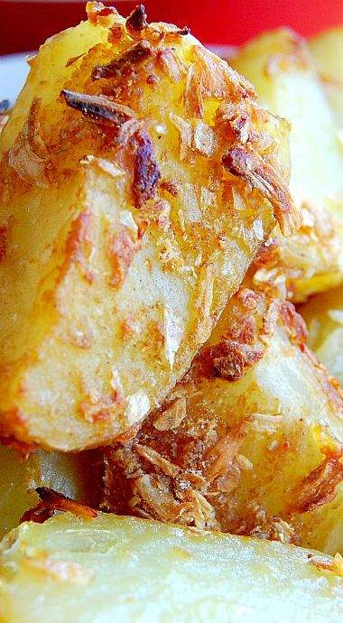 French Onion Roast Potatoes