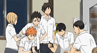 ハイキュー!! OVA VS赤点 | 烏野高校 Karasuno High | HAIKYU!! VS Failing Grades