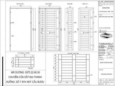 Cửa sắt chung cư CHUNG CƯ IEC TỨ HIỆP