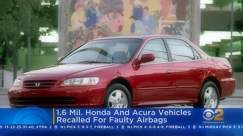 Honda misses 1.6 M vehicle to replace potentially fatal Dwarf Airbag InfraTables