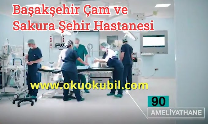 Başakşehir Çam ve Sakura Şehir Hastanesi Törenle Açılıyor 2020