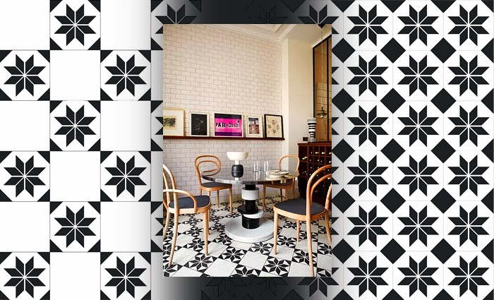 the styled life cement tile. Black Bedroom Furniture Sets. Home Design Ideas
