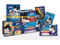 Logo Concorso ''Facce da Felix'' : vinci gratis 10 forniture di prodotti con PetPassion
