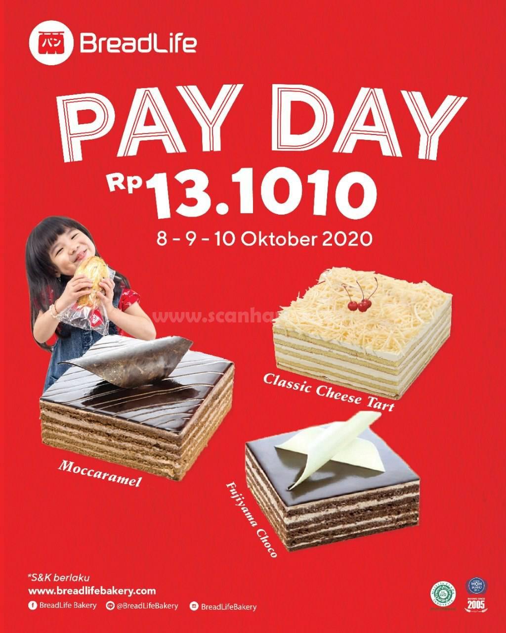 Breadlife Promo Paket Payday Cake Serba 13.1010