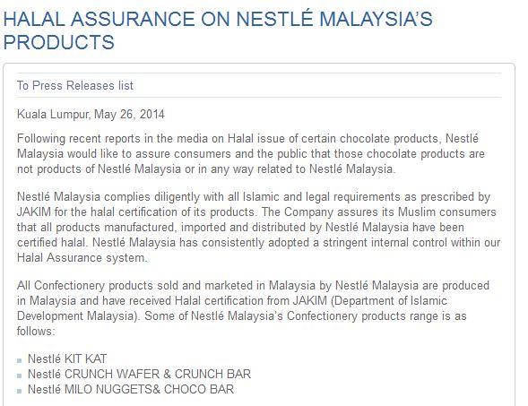 Cadbury Malaysia halal saga - Mini Me Insights